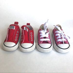 Converse All Stars - 2 Pairs | Size 3 (Baby)